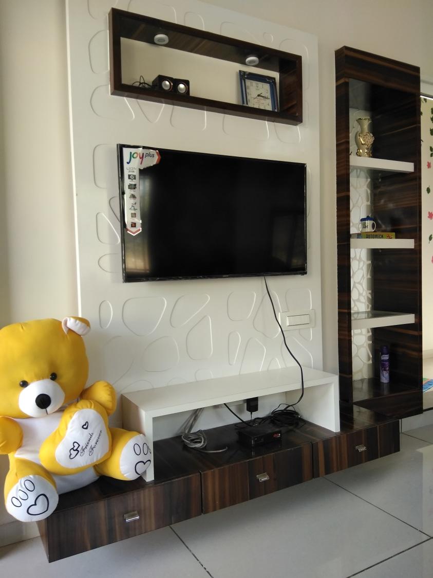 TV cabinet by shivanibhokare Living-room Modern | Interior Design Photos & Ideas