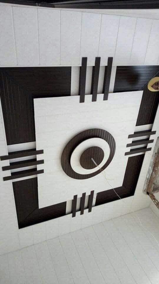 Modern false ceiling with fine detailing by shivanibhokare Living-room Modern | Interior Design Photos & Ideas