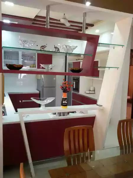 Modular kitchen by shivanibhokare Modular-kitchen Modern | Interior Design Photos & Ideas