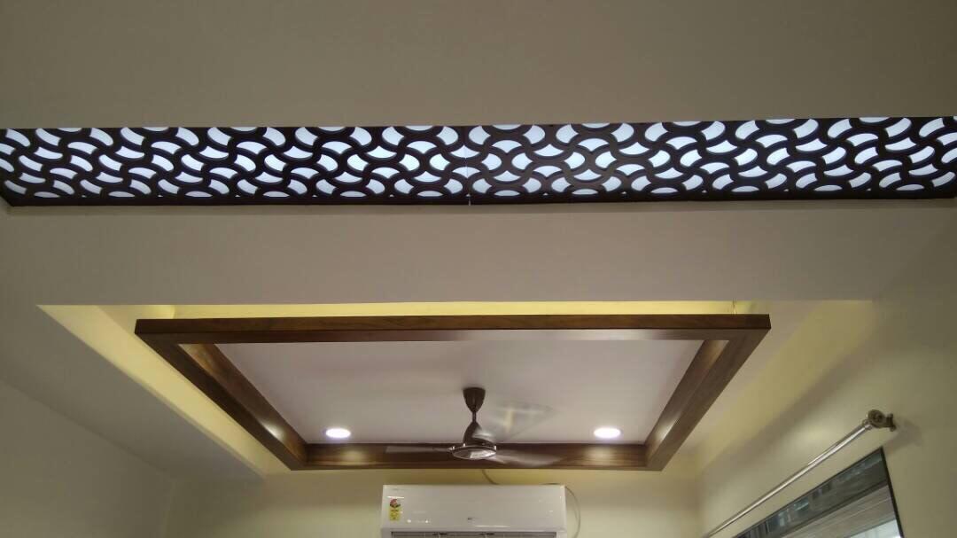 Living room ceiling by kavita.dhotre Living-room | Interior Design Photos & Ideas