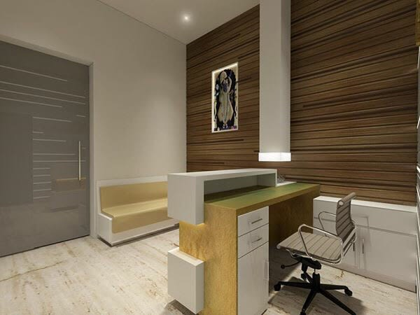 Office reception by kavita.dhotre | Interior Design Photos & Ideas