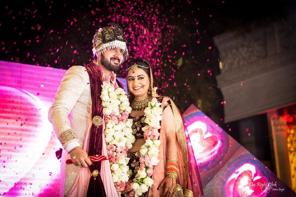 Perfect Couple Goals! by Neha Singh Wedding-photography Wedding-dresses Bridal-jewellery-and-accessories Groom-wear-and-accessories | Weddings Photos & Ideas
