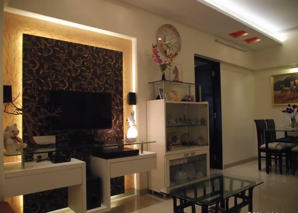 Living room by Amol Vishwas Joshi Living-room | Interior Design Photos & Ideas