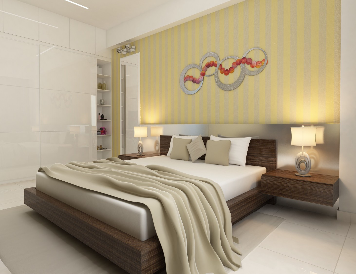 Contemporary bedroom by setu.patel Bedroom | Interior Design Photos & Ideas