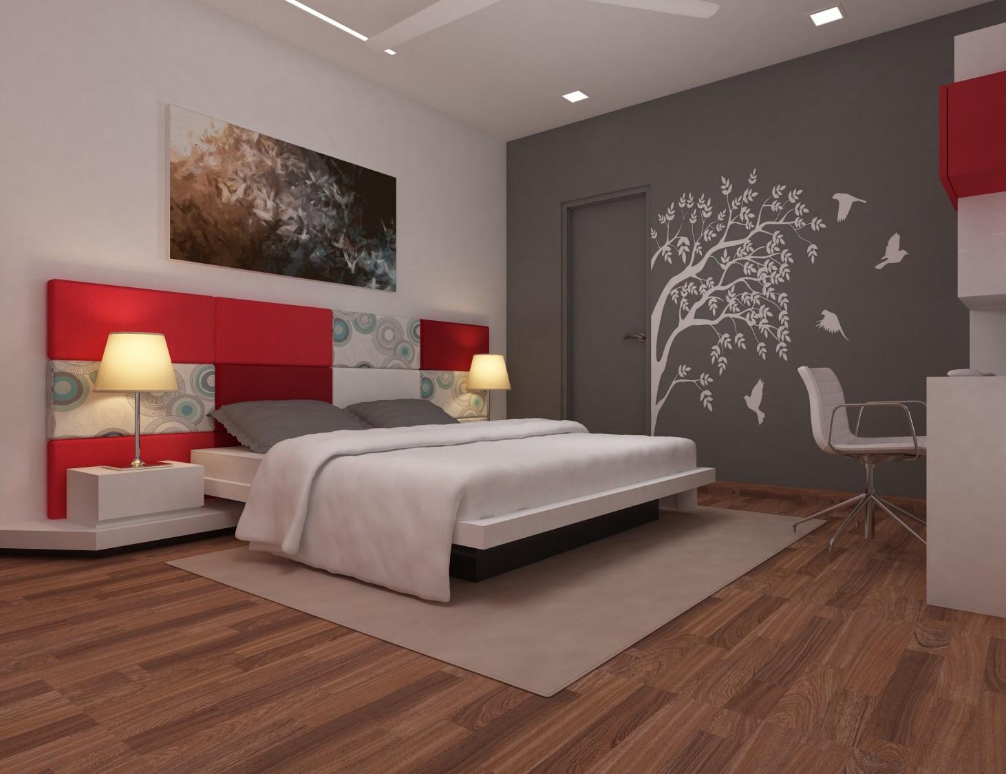 Contemporary bedroom by setu.patel Bedroom   Interior Design Photos & Ideas