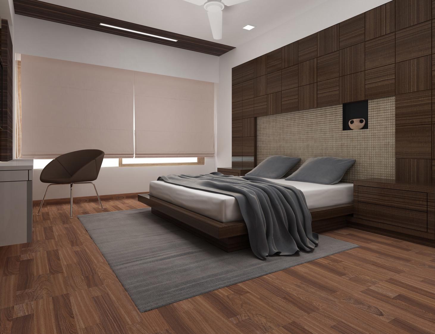 Contemporary bedroom by setu.patel Bedroom | Interior Design Photos & Ideas