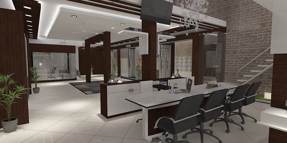 Modern Showroom design by setu.patel | Interior Design Photos & Ideas