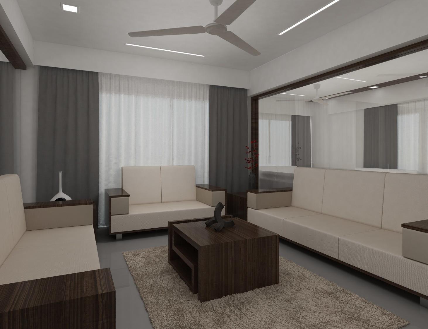 Modern living room by setu.patel Living-room | Interior Design Photos & Ideas
