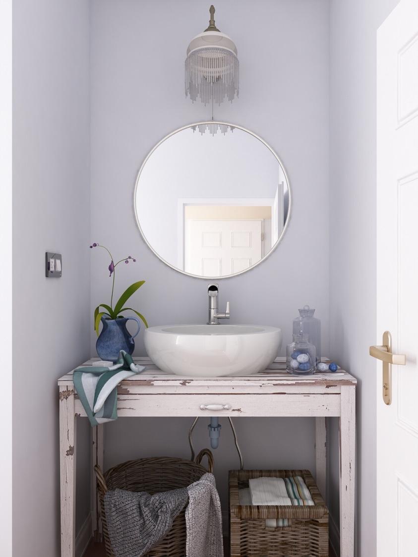 Wash basin area by setu.patel Bathroom   Interior Design Photos & Ideas