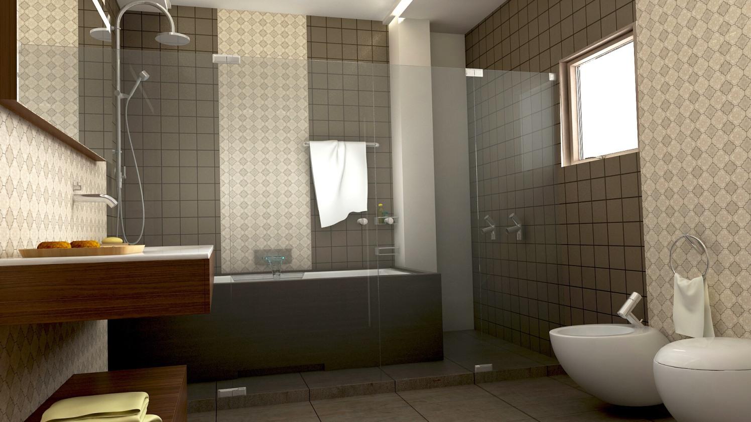 Modern bathroom by setu.patel Bathroom | Interior Design Photos & Ideas