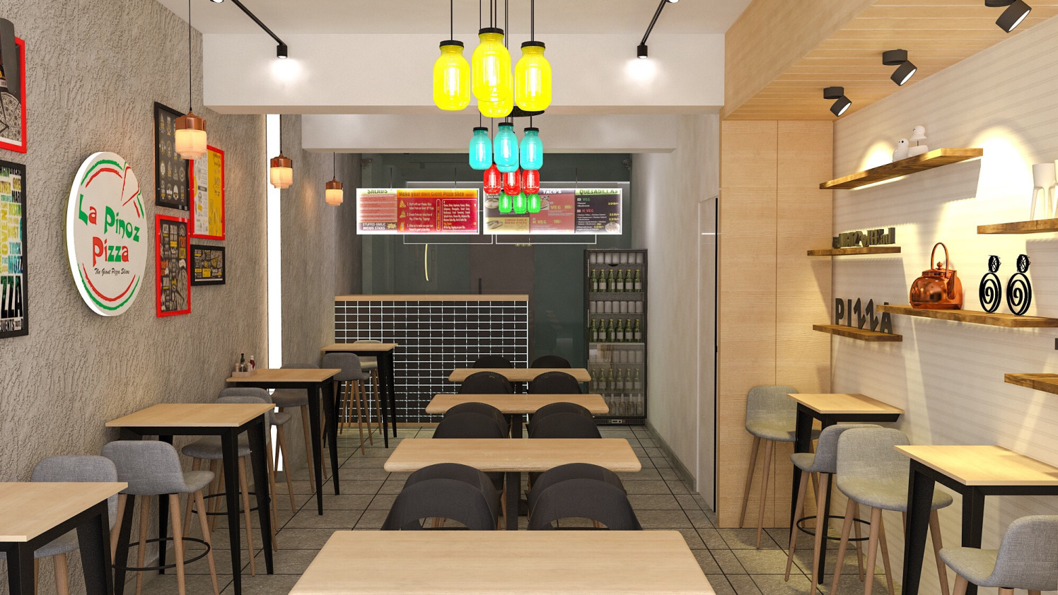 Cafeteria by setu.patel | Interior Design Photos & Ideas