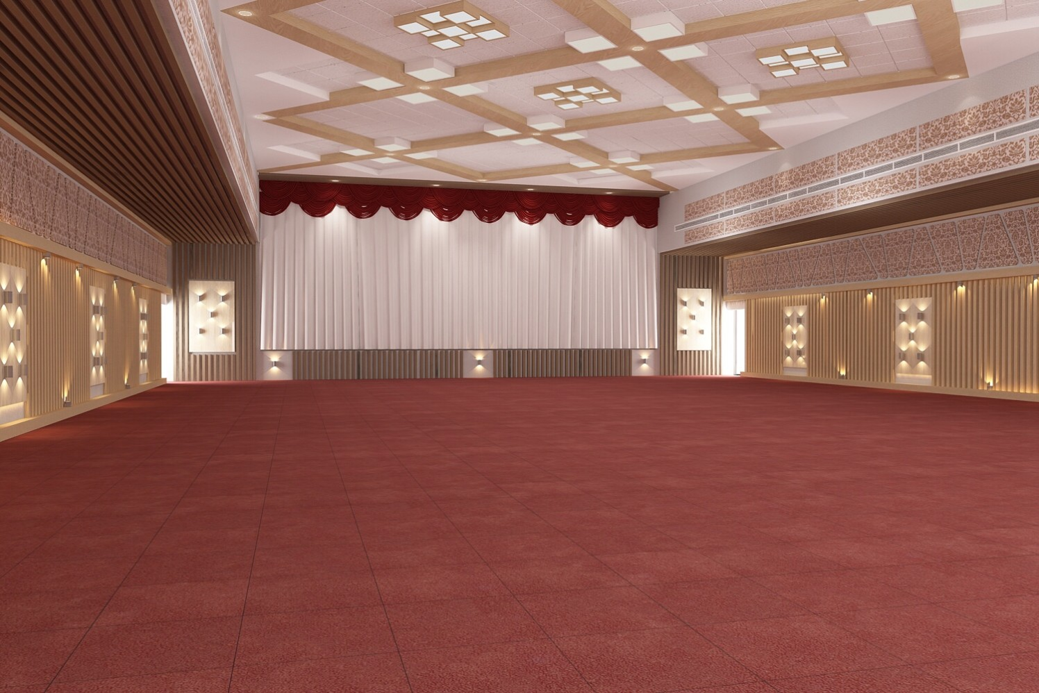 3D Design Of Hall by setu.patel | Interior Design Photos & Ideas