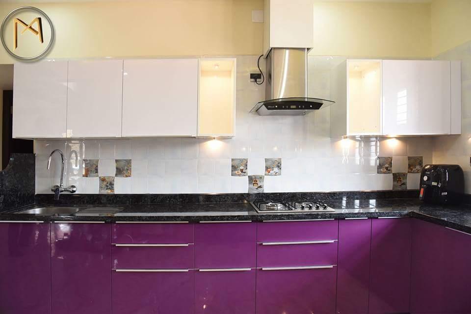 Modular kitchen by Syed Illias Modern   Interior Design Photos & Ideas