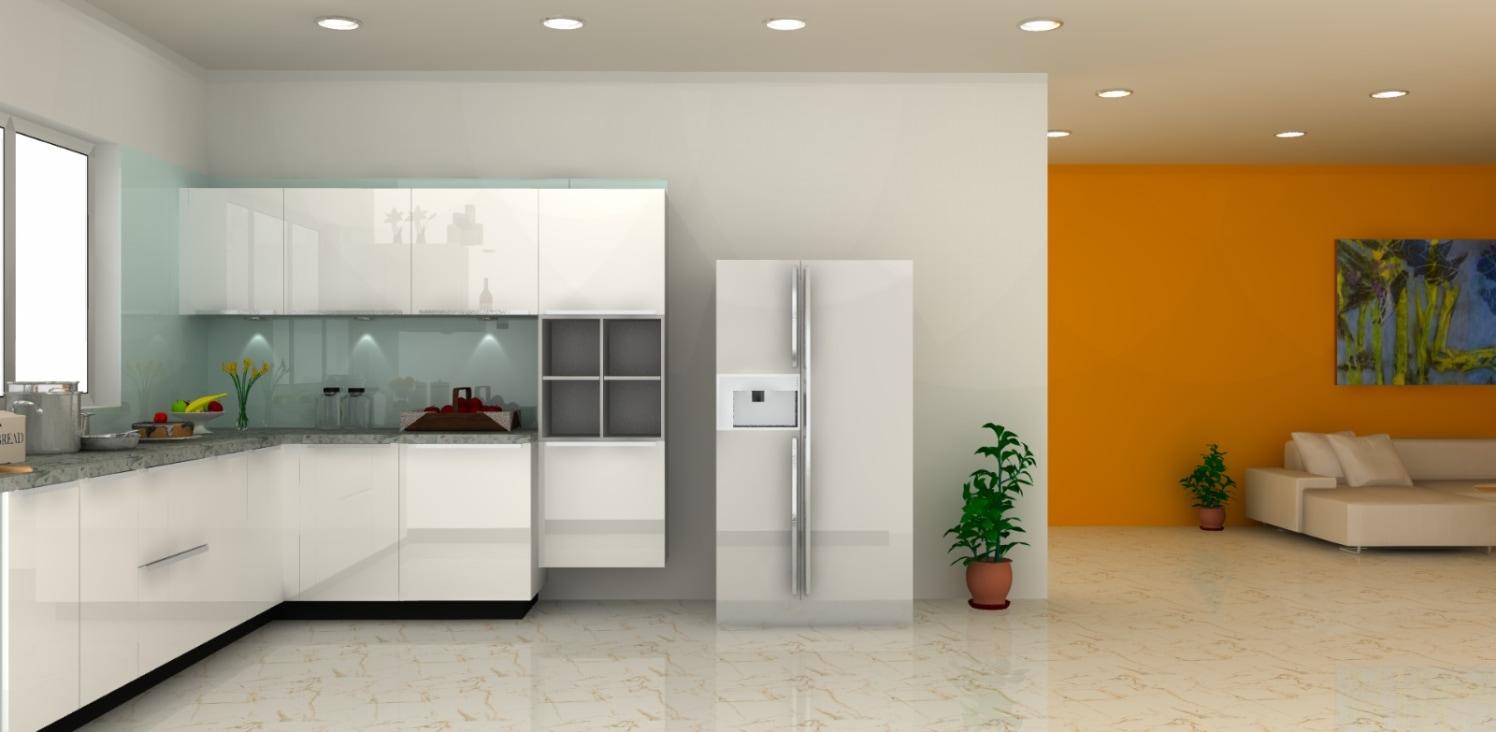 Modular kitchen by Syed Illias Modern | Interior Design Photos & Ideas