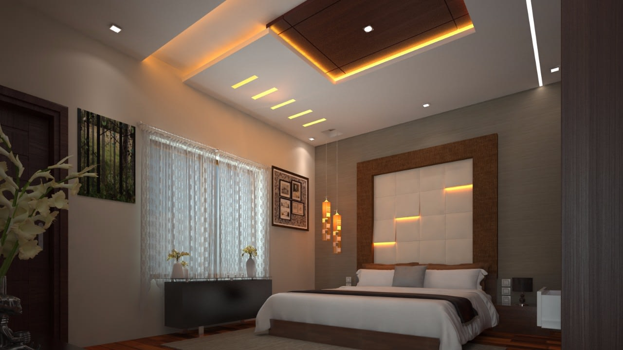 Contemporary bedroom design by Syed Illias Bedroom Contemporary | Interior Design Photos & Ideas