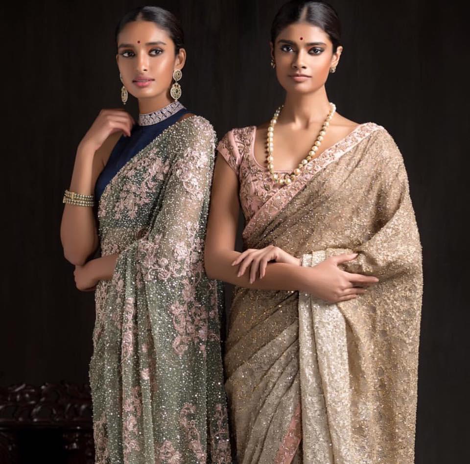 Light Pastel Shaded Bridal Wear by Shyamal & Bhumika Wedding-dresses | Weddings Photos & Ideas