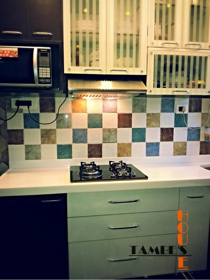 Modern Modular kitchen! by faizan Modular-kitchen Modern | Interior Design Photos & Ideas