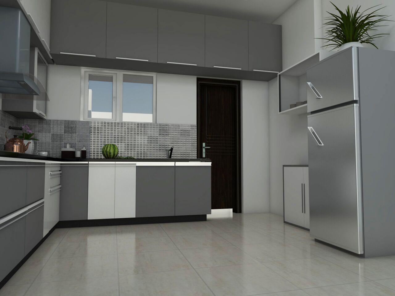 Modular Kitchen. by L Santosh Kumar Modular-kitchen Modern | Interior Design Photos & Ideas