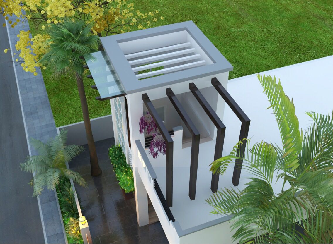 3D design of garden by bala kumar Open-spaces | Interior Design Photos & Ideas