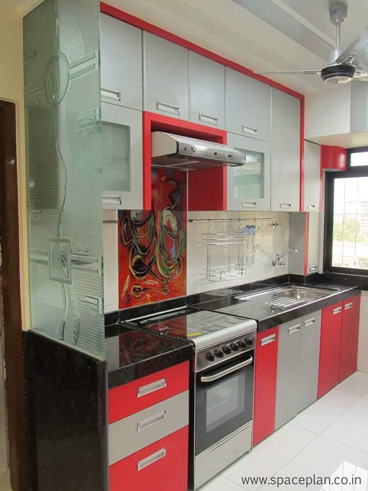 Modern kitchen space! by bala kumar Modular-kitchen | Interior Design Photos & Ideas