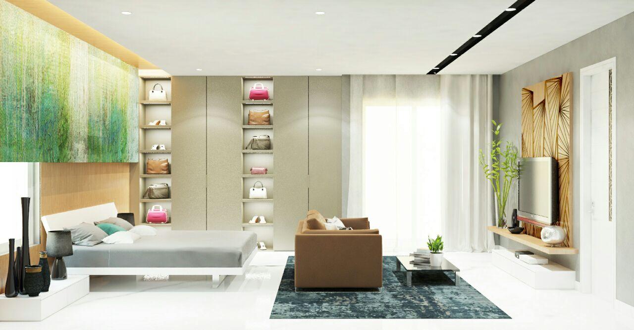 Contemporary bedroom by bala kumar Bedroom | Interior Design Photos & Ideas