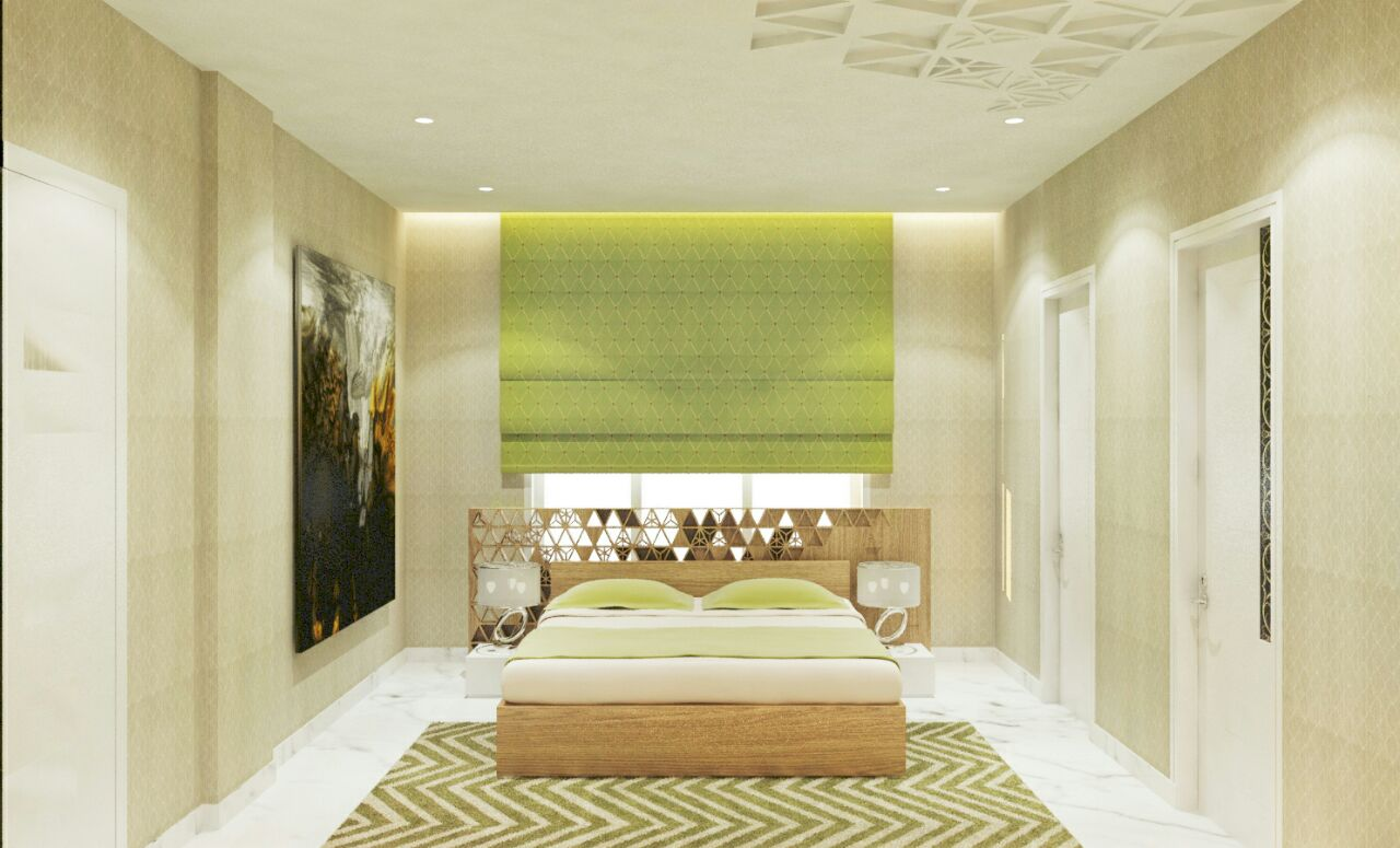 Contemporary bedroom by bala kumar Bedroom   Interior Design Photos & Ideas