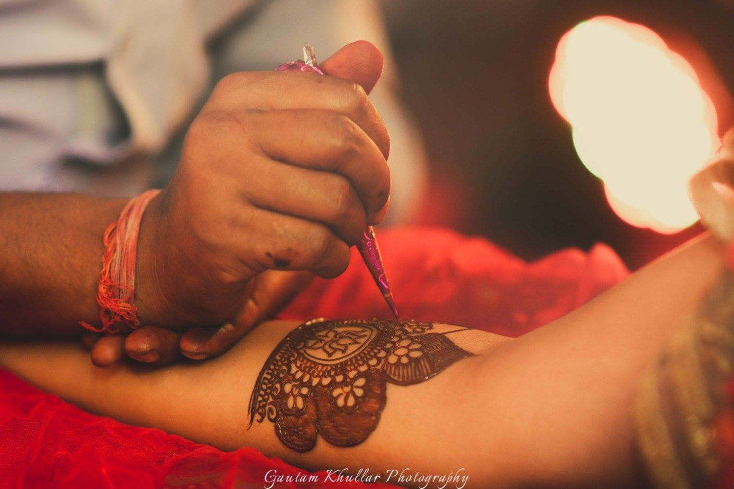 Detailed Bridal Mehendi Design With Circular Motifs by Gautam Khullar Bridal-mehendi | Weddings Photos & Ideas