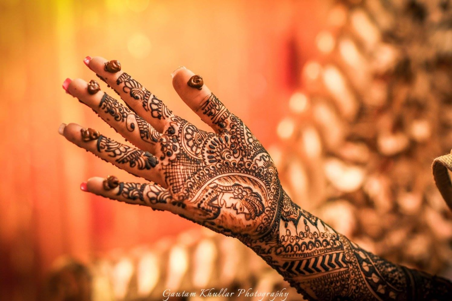 Funky And Quirky Bridal Mehendi Design by Gautam Khullar Bridal-mehendi | Weddings Photos & Ideas