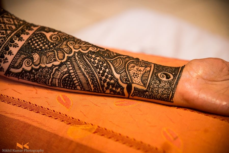 Beautiful Floral Hand Mehendi by Nikhil Kumar Bridal-mehendi | Weddings Photos & Ideas