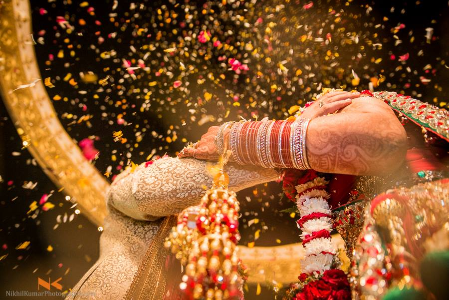 Showers OF Flower Petals by Nikhil Kumar Wedding-photography | Weddings Photos & Ideas