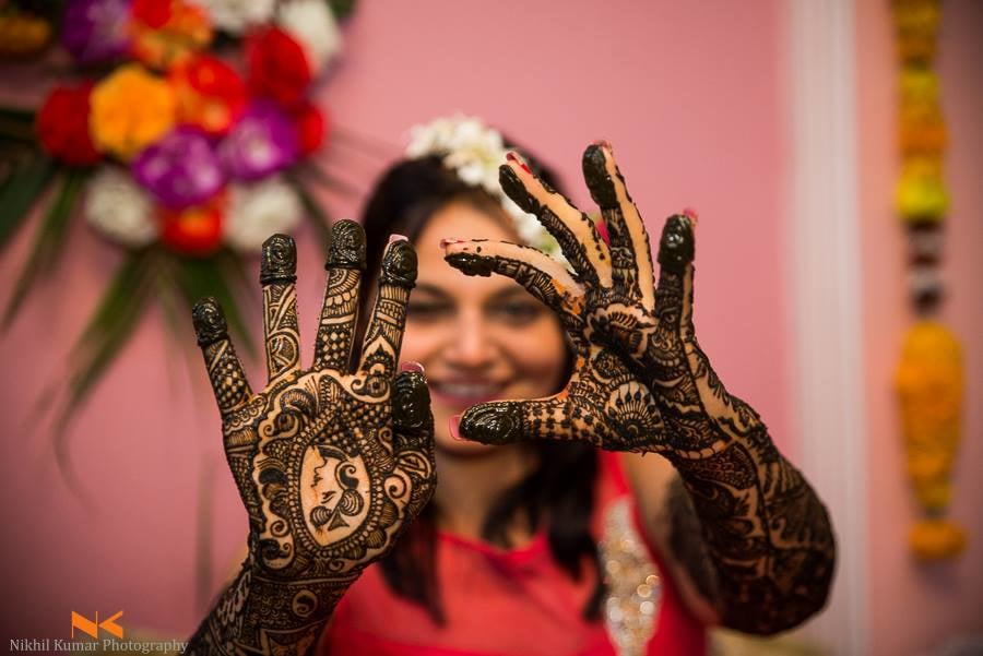 Queen Design Henna Hands by Nikhil Kumar Wedding-photography Bridal-mehendi | Weddings Photos & Ideas