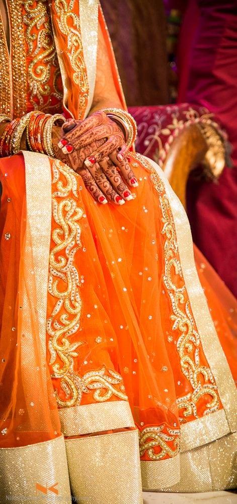 Bridal Red Manicured Nails by Nikhil Kumar Wedding-photography   Weddings Photos & Ideas