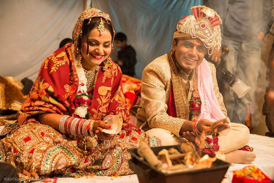 Auspicious Wedding Ritual by Nikhil Kumar Wedding-photography Groom-wear-and-accessories | Weddings Photos & Ideas