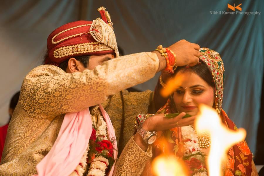 Sindoor Ceremony by Nikhil Kumar Wedding-photography | Weddings Photos & Ideas