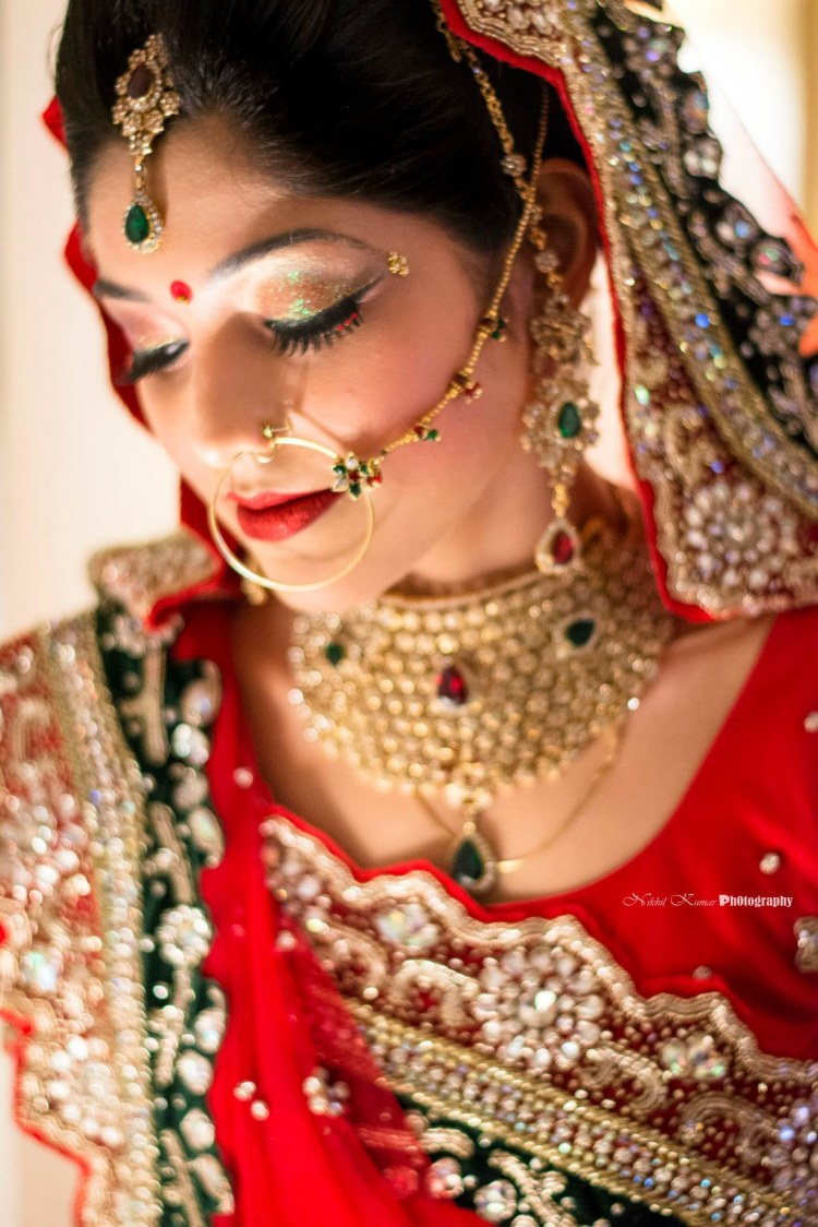Red And Green Gem Stone Jewellery by Nikhil Kumar Bridal-jewellery-and-accessories | Weddings Photos & Ideas
