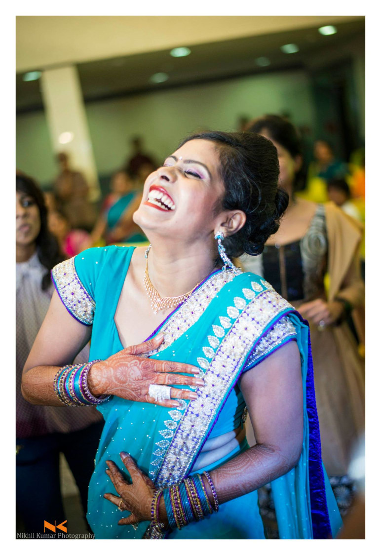 Laugh Her Heart Out by Nikhil Kumar Wedding-photography | Weddings Photos & Ideas