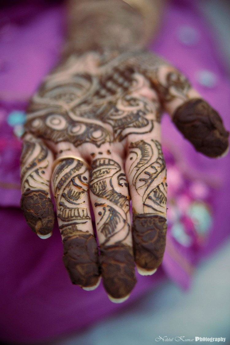 Beautiful Mehendi Art by Nikhil Kumar Bridal-mehendi | Weddings Photos & Ideas
