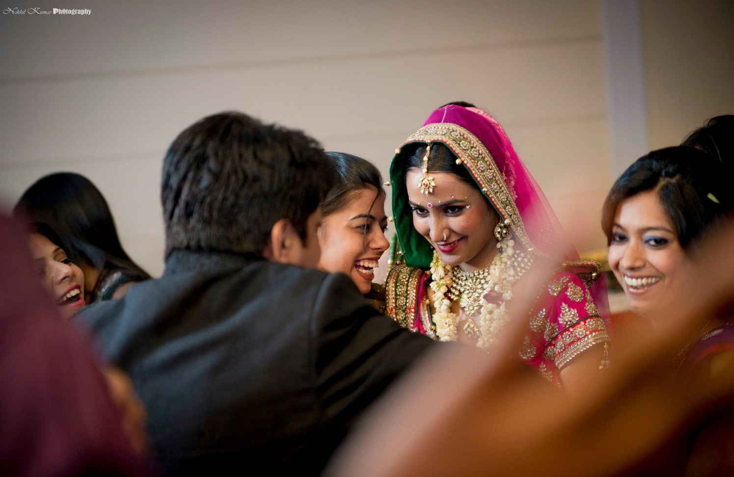 Here Comes The Bride by Nikhil Kumar Wedding-photography Bridal-jewellery-and-accessories | Weddings Photos & Ideas