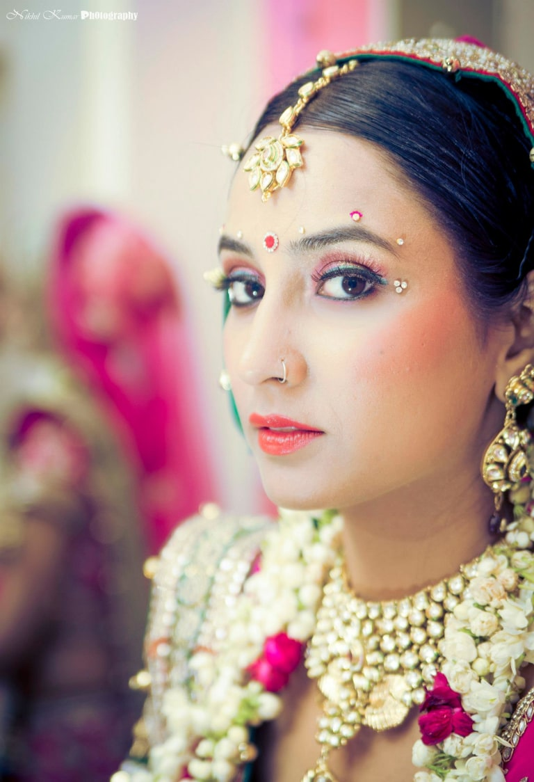 Mesmerising  Bridal Eyes by Nikhil Kumar Bridal-makeup | Weddings Photos & Ideas
