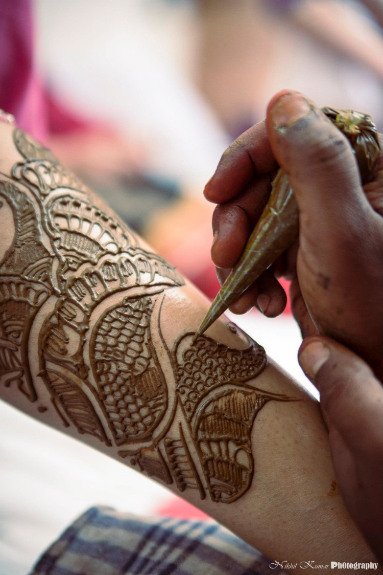 Indian Bridal Mehendi by Nikhil Kumar Bridal-mehendi | Weddings Photos & Ideas