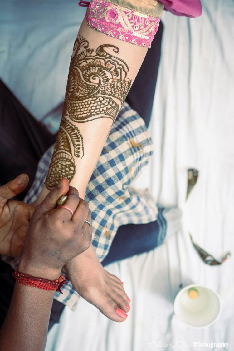 Elaborate Mehendi Designs by Nikhil Kumar Wedding-photography | Weddings Photos & Ideas