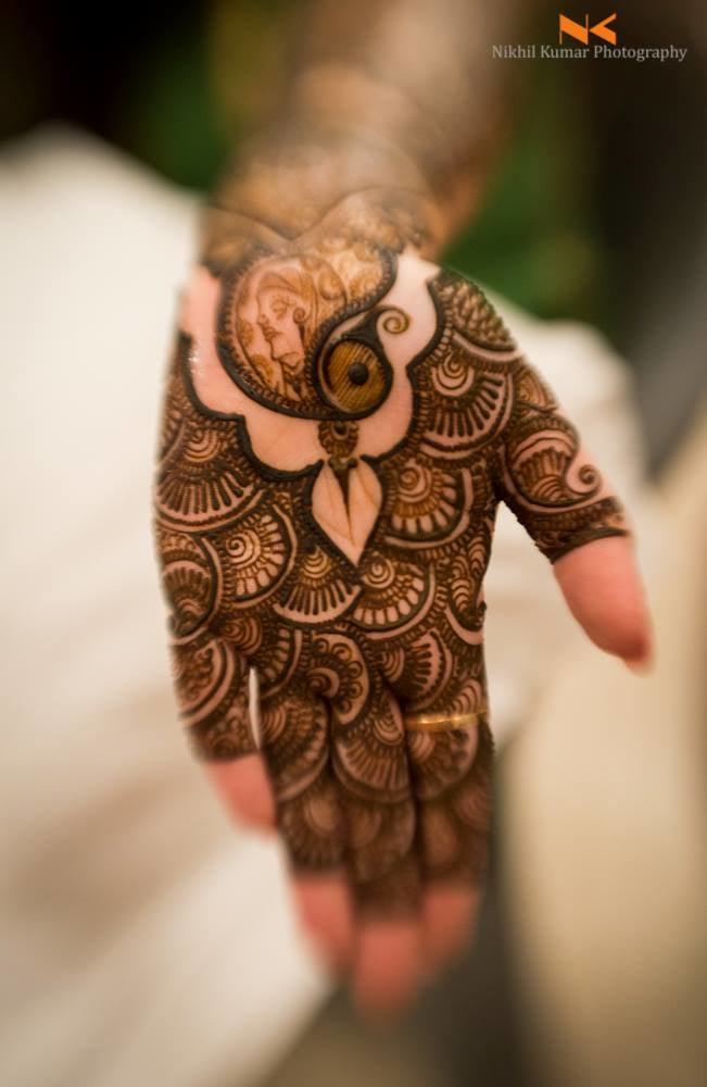 Peacock Motif Mehendi by Nikhil Kumar Bridal-mehendi | Weddings Photos & Ideas