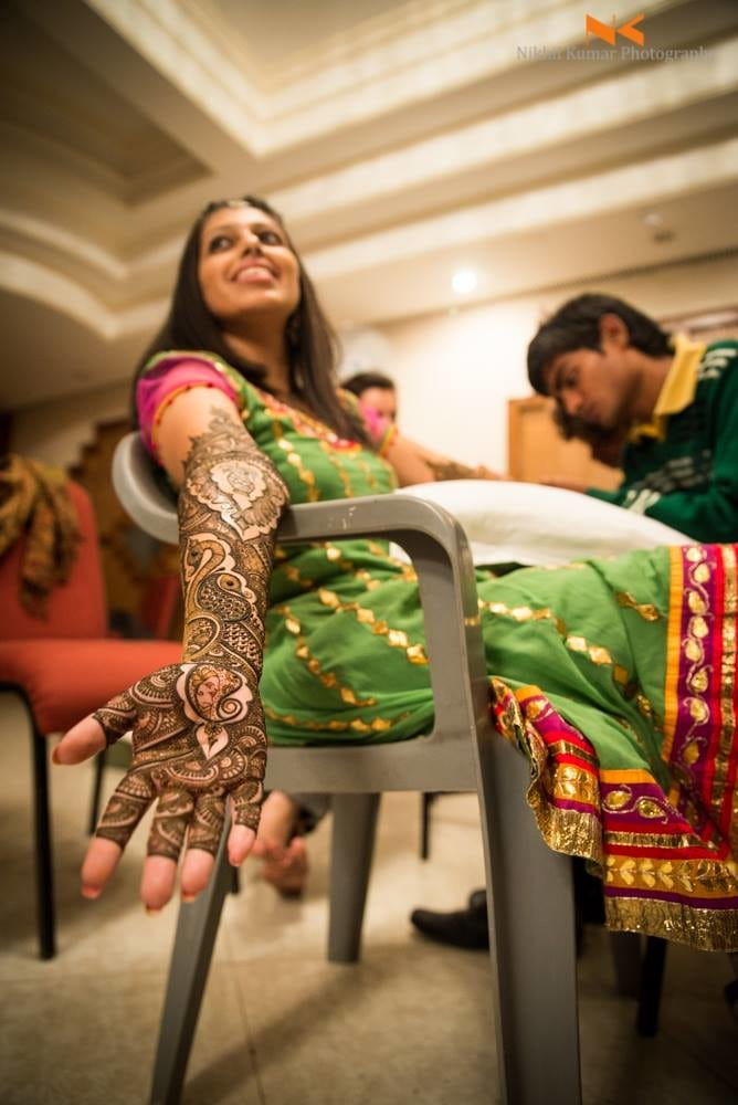 Henna Adorned Hands by Nikhil Kumar Bridal-mehendi | Weddings Photos & Ideas