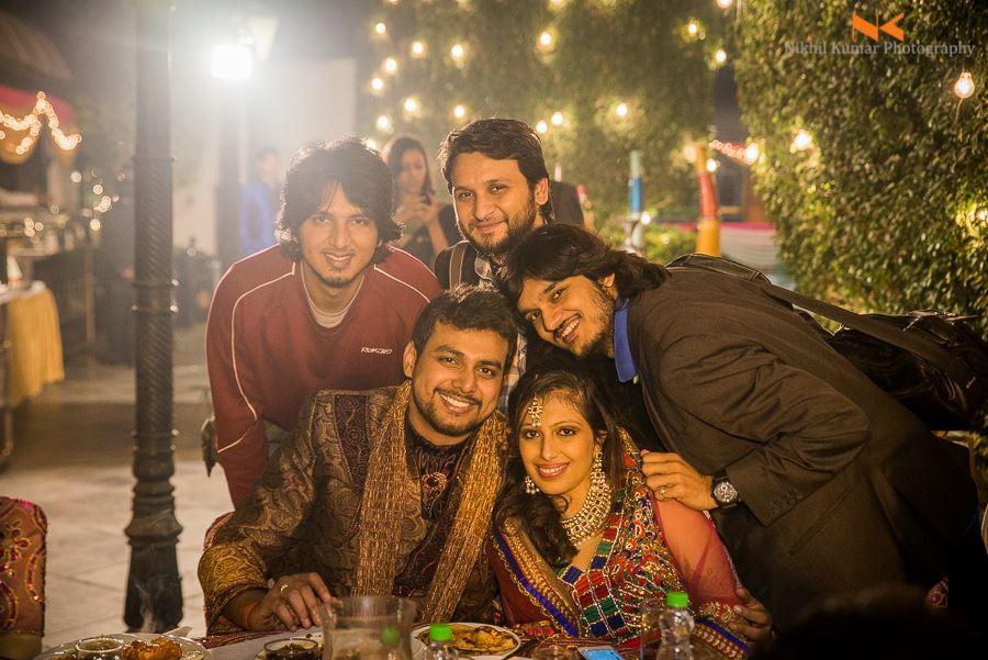 A Moment With The Guest by Nikhil Kumar Wedding-photography | Weddings Photos & Ideas