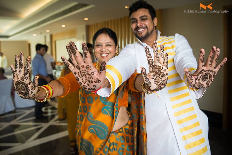 Inricate Wedding Mehendi by Nikhil Kumar Wedding-photography Bridal-mehendi | Weddings Photos & Ideas
