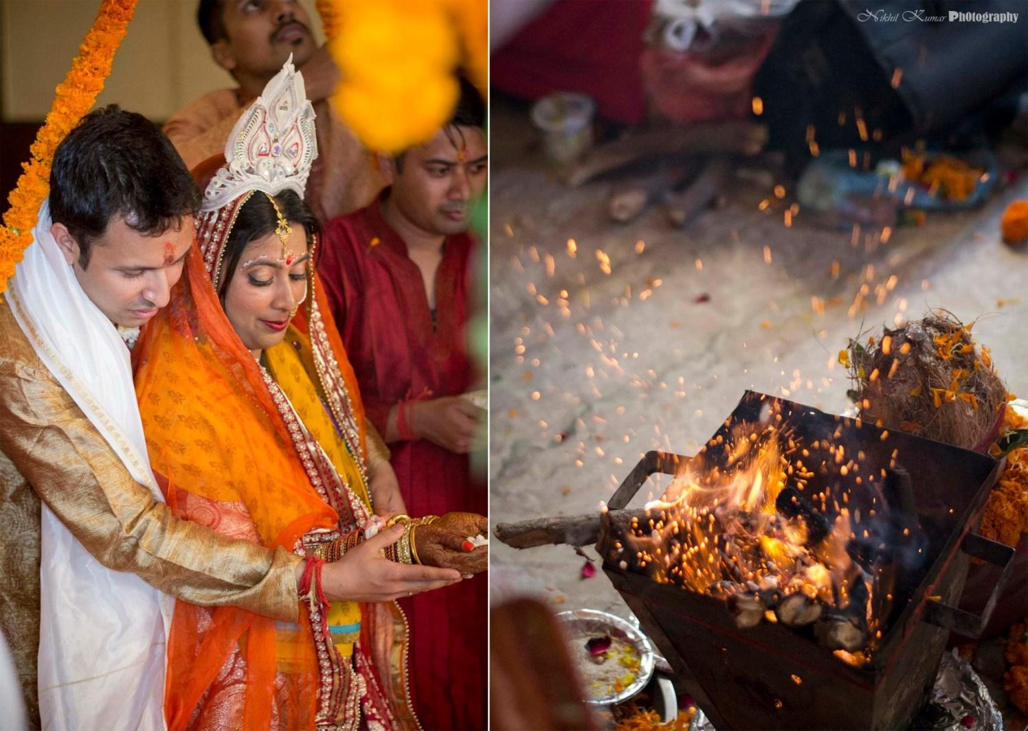 Holy Havan Ceremony by Nikhil Kumar Wedding-photography | Weddings Photos & Ideas