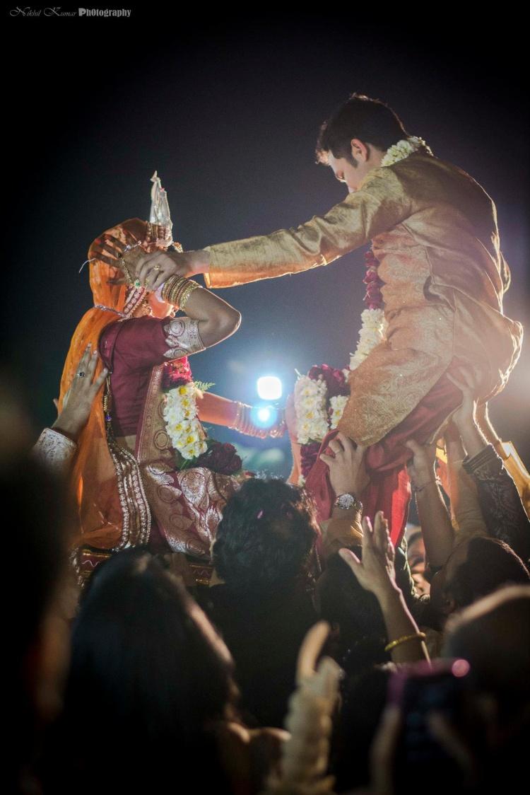Varmala Ceremony by Nikhil Kumar Wedding-photography | Weddings Photos & Ideas