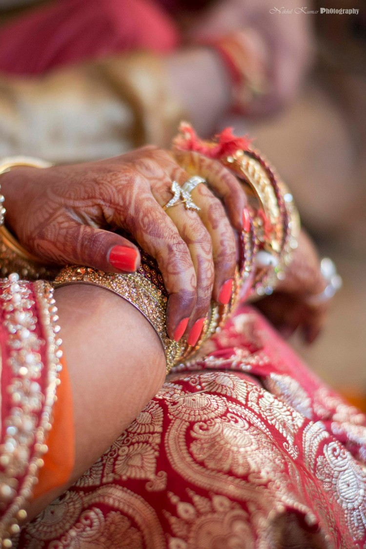 Diamond Studded Ring by Nikhil Kumar Wedding-photography Bridal-jewellery-and-accessories | Weddings Photos & Ideas