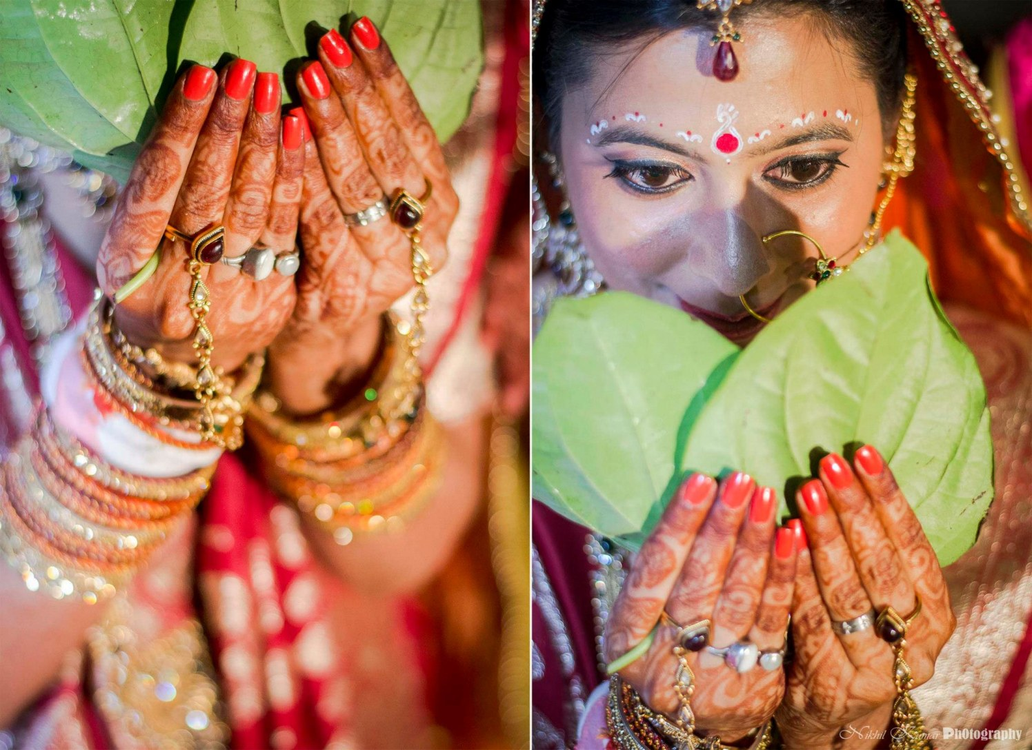 Gemstone Rings On Henna Adorned Hands by Nikhil Kumar Wedding-photography Bridal-mehendi | Weddings Photos & Ideas