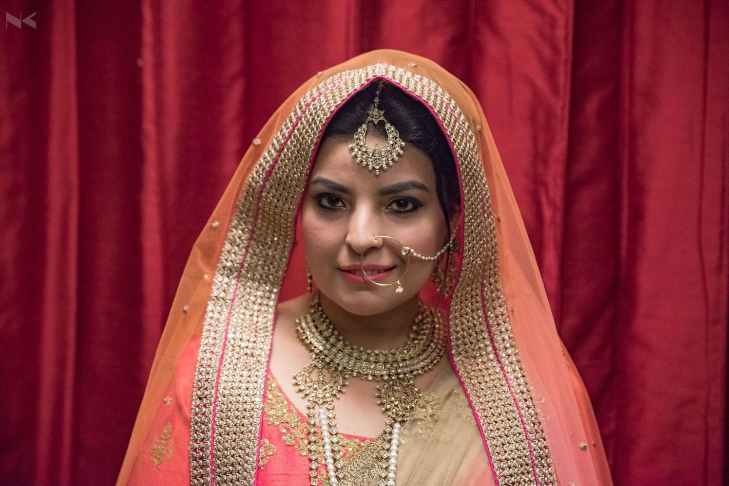 Bridal Portrait by Nikhil Kumar Bridal-makeup Bridal-jewellery-and-accessories | Weddings Photos & Ideas